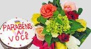 Flores e Bolos