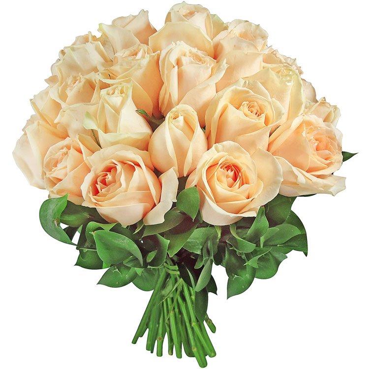Buquê Amore de Rosas Champanhe