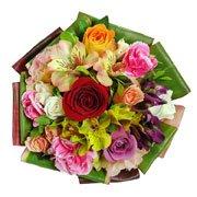 Mini Buquê de Flores Alegria
