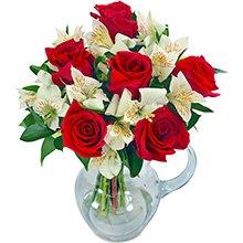 Splendor de Rosas Vermelhas