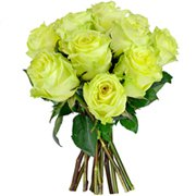 12 Rosas Colombianas Verde