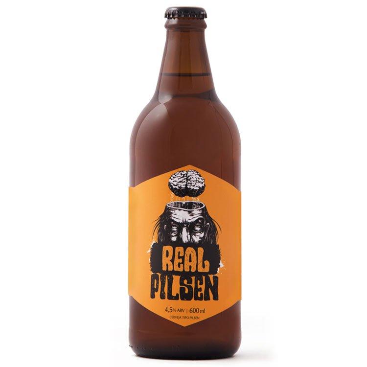 Cerveja Real Pilsen - 600ml Mr. Beer