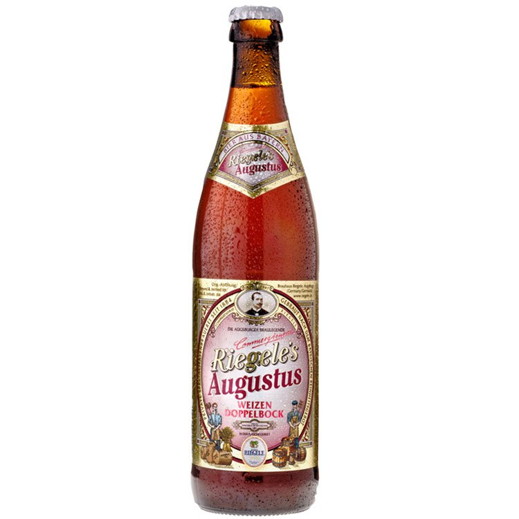 Cerveja Riegele Augustos - 500ml Mr. Beer