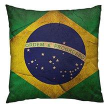 Almofada Bandeira do Brasil Yaay!