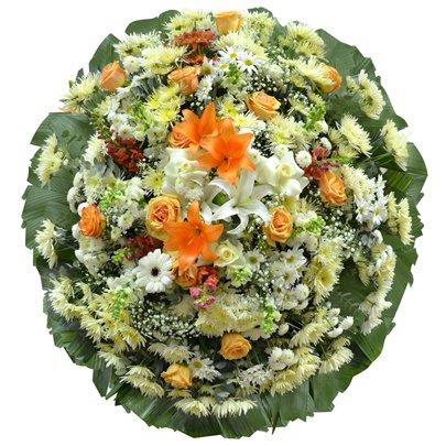 Coroa de Flores Standard Luxo Média 2 GF03
