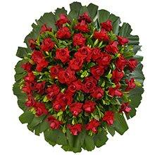 Coroa de Flores Premium Luxo Média 10 GF09