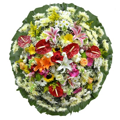 Coroa de Flores Super Premium Média 6 GF04