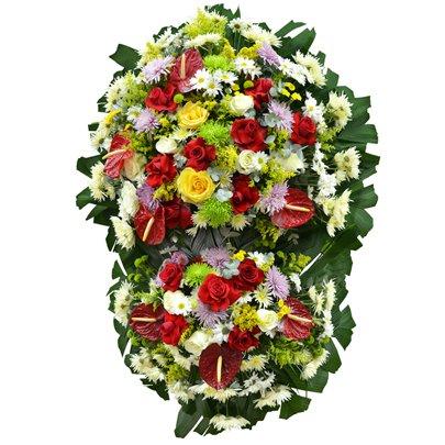 Coroa de Flores Super Standard Média 13 GF08