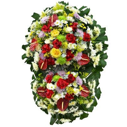 Coroa de Flores Super Standard Pequena 13 GF08