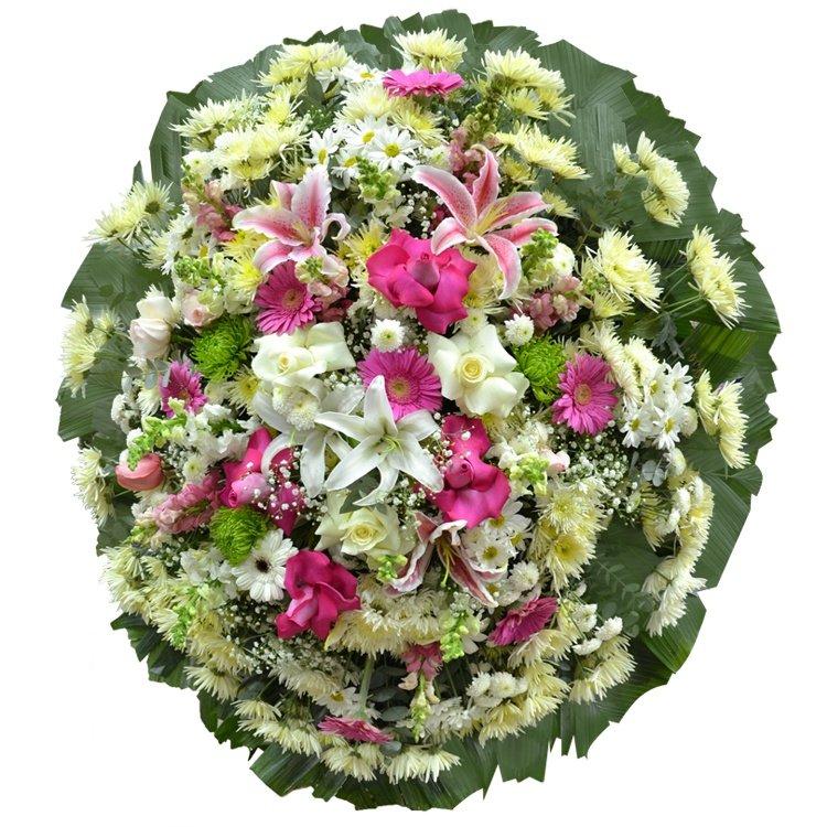 Coroa de Flores do Campo Premium Média 3  GF01