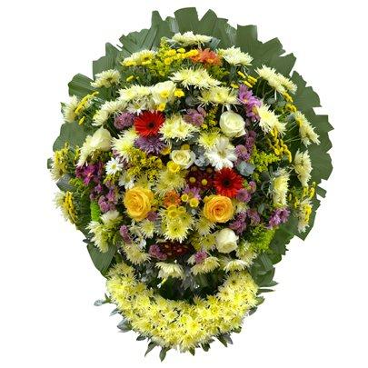 Coroa de Flores Nobres Luxo Média 9 GF05
