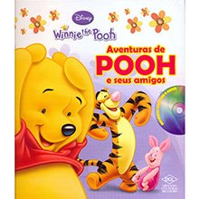Livro Disney - Aventuras De Pooh e Seus Amigos