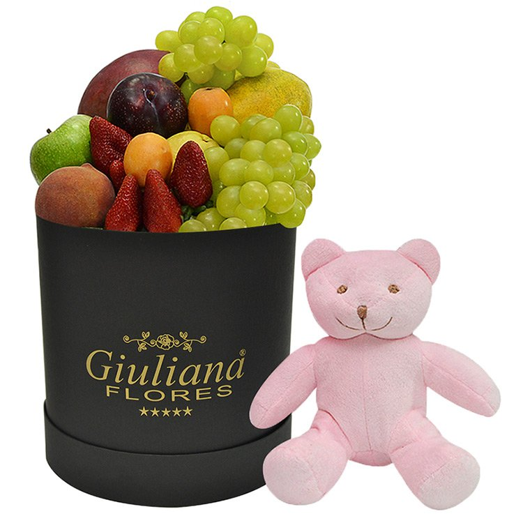 Cesta Preciosas Frutas Para Ela