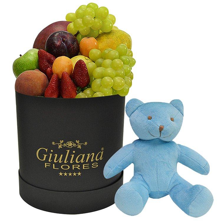 Cesta Preciosas Frutas Para Ele