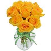 Surpresa de Rosas Amarelas
