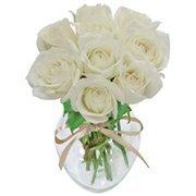 Surpresa de Rosas Brancas