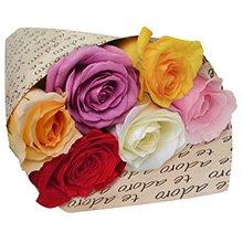 Para Dizer Que Te Adoro com Rosas Coloridas