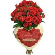 Buquê Declaração de Rosas Vermelhas