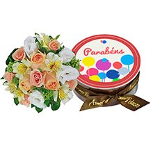 Flores Nobres & Parabéns