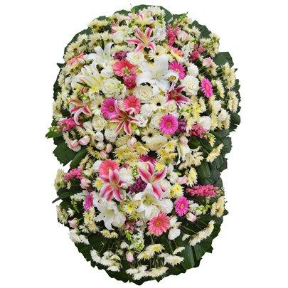 Coroa de Flores Nobres Diamante Grande GF11