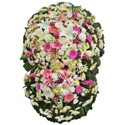 Coroa de Flores Nobres Diamante Média GF11