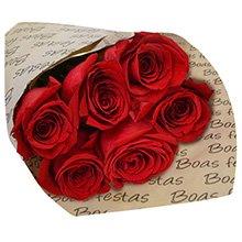 Boas Festas com Rosas Vermelhas