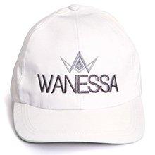 Boné Branco Wanessa