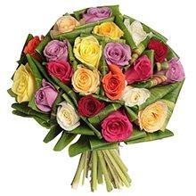 Buquê Supreme de Rosas Coloridas