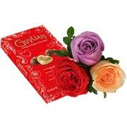 Flores Bombons Guylian & Rosas