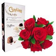 Rosas Vermelhas & La Trufflina 90g Guylian