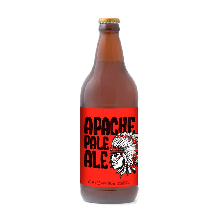 Cerveja Apache 600ml