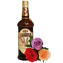 Licor Amarula e Rosas Colombianas