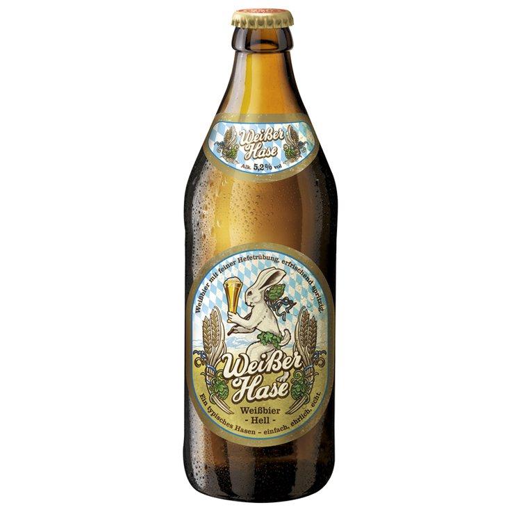 Cerveja Hasen Brau Weisser Hasen 500ml