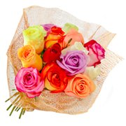 Fascínio de Rosas Coloridas (Feriado)
