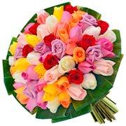 Buquê Festa de Rosas Coloridas (Feriado)