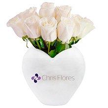 Chris Flores & Rosas Brancas