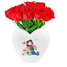 Chris Flores Carinho de Mãe & Rosas Vermelhas