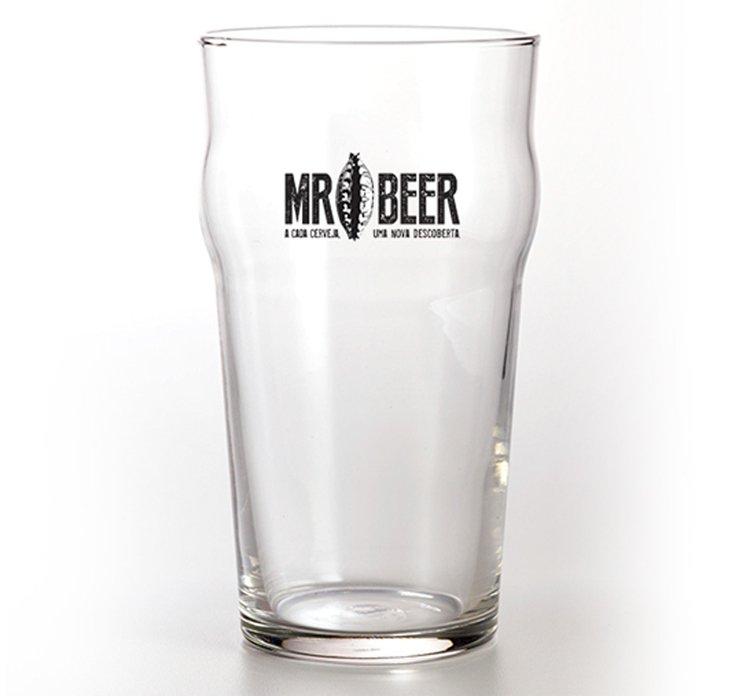 Copo Pint Mr Beer 440ml
