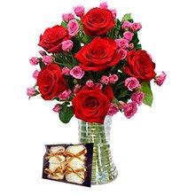Luxuosas Vermelhas e Lilás e Bem Casados