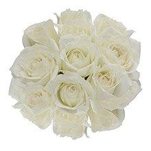 Buquê Surpresa de Rosas Brancas
