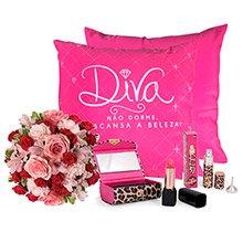 Mix de flores & Presente Especial Para Diva