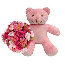 Mix de Flores Pink & Precioso Rosa