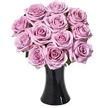 Luna de Rosas Lilás no Vaso