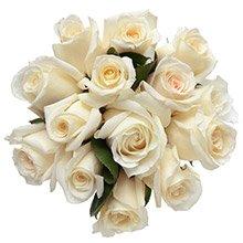 Buquê Luna de Rosas Brancas