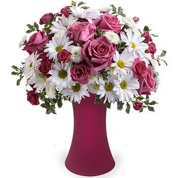 Poesia Mix de Rosas & Margaridas Premium