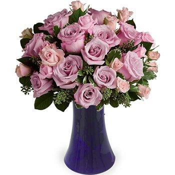 Poesia Mix de Rosas Lilás