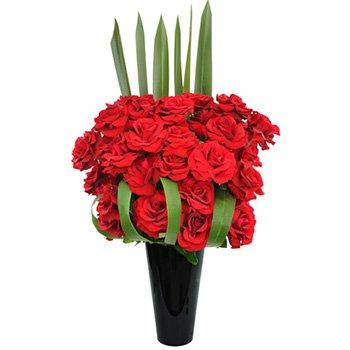 Exuberantes Rosas Vermelhas by Katia Jannini