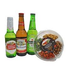Kit Cervejas e Petiscos