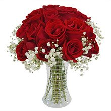 Delicadeza de Rosas Nacionais Vermelhas