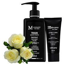 Rosas Brancas & Kit Mahogany For Men